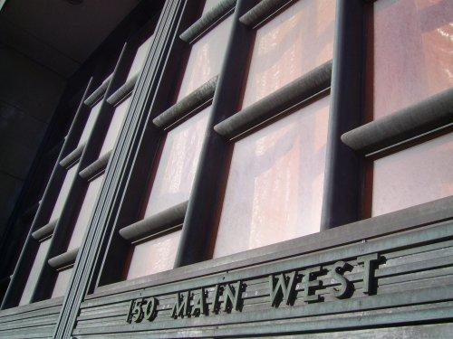 Address detail above main entrance